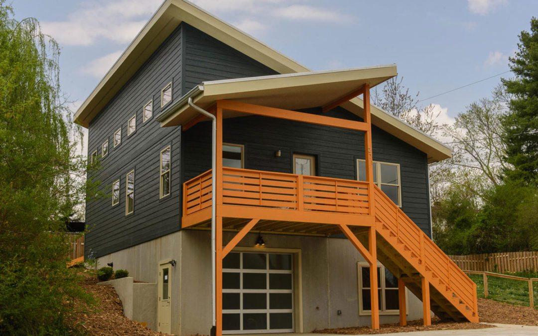 Contemporary West Asheville House