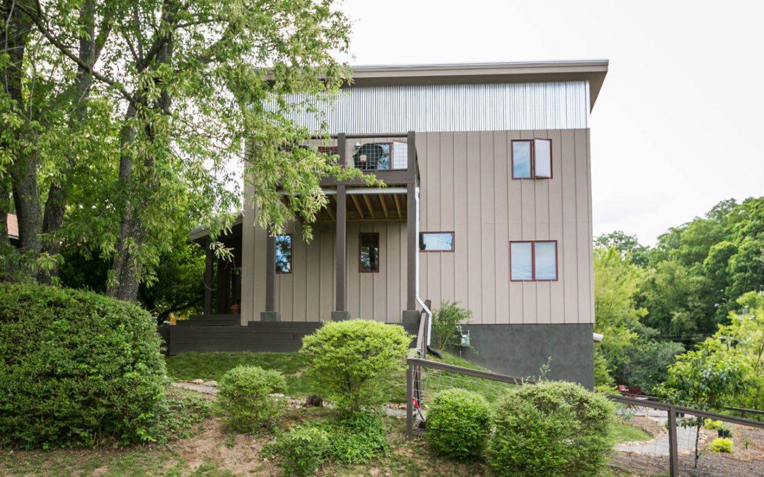 Contemporary Custom Green Home